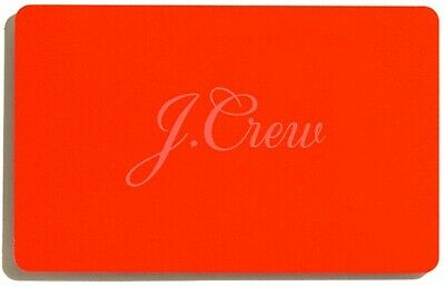 $250 J. Crew Gift Card EMAIL AND PHYSICAL