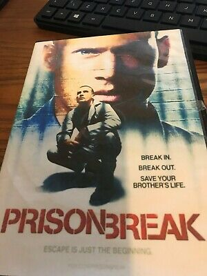 Prison Break : Season 1 (DVD, 2017, 3-Disc Set)