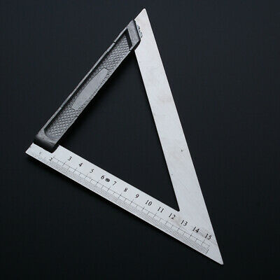 150mm/200mm Triangle Ruler Angle Tools Drawing Aluminum alloy Square roofing