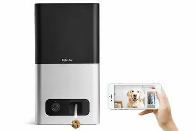 Petcube Bites Wi-Fi Pet Camera With Treat Dispenser: 2-Way Audio, HD 1080p Video