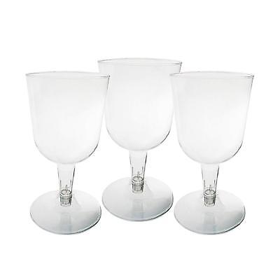 Plastic Wine Party Glasses 5.5 Ounce 100 Count