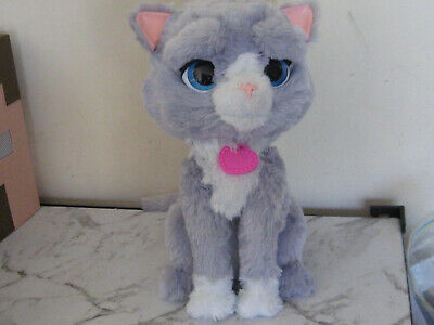 Furreal Bootsie Cat/Kitten Interactive Figure-Great Used