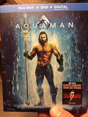 Aquaman, 2019 (Blu-Ray + DVD + Digital Copy)
