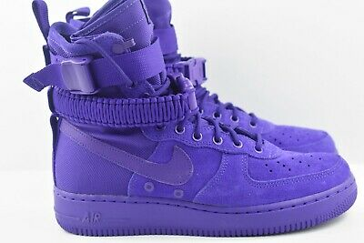 NEW NIKE SF AF1 Air Force 1 Size 12 One High Boot Purple