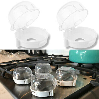 1/4Pcs Kids Baby Gas Stove Switch Protective Cover Locks Child Proof Oven Cooker