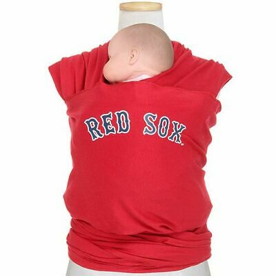 Moby Wrap Dad Boston RED SOX Baseball Knit Baby Carrier One Size up to 35 lbs