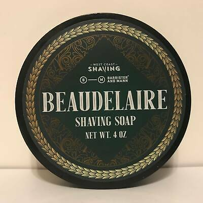 Beaudelaire Shaving Soap (Excelsior Base) - by Barrister & Mann (Pre-Owned)