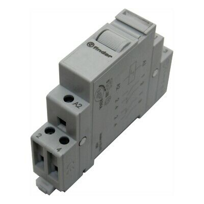 22.22.9.012.4000 Relay installation DPST-NO Ucoil12VDC Mounting DIN FINDER