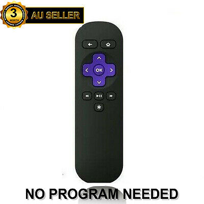 New Replacement Remote Control For ROKU 1 2 3 4 LT HD Telstra TV 1, Telstra TV 2