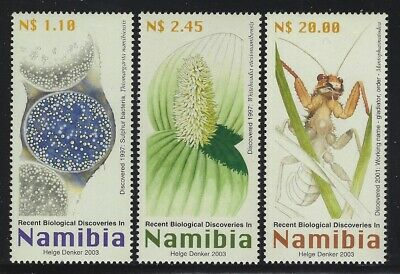 Namibia 2003 Recent Biological Discoveries set Sc# 1006-10 NH