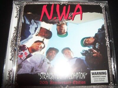 N.W.A. / NWA Straight Outta Compton 20th Ann Edition (Australia) Bonus Tracks CD