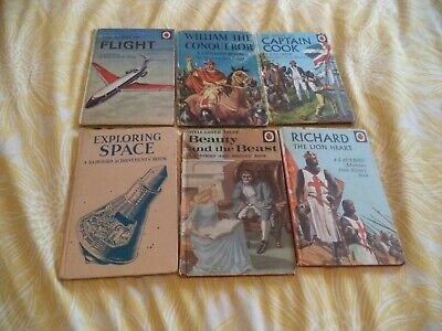 Six First Edition  Ladybird Books