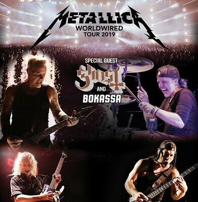 2x Tickets Metallica *WorldWired Tour* - Berlin 06.07. - FoS 1 Front of Stage 1
