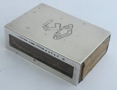 Superb Tiffany & Co Sterling Silver Matchbox Holder