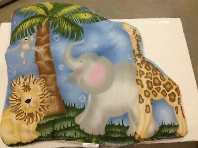 Bedtime Originals by Lambs & Ivy Baby Jungle WALL HANGING lion elephant giraffe