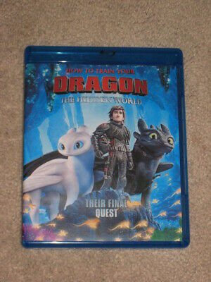 How to train your dragon 3: the hidden world (Blu Ray disc ONLY, 2019)