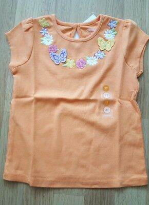 Gymboree Girls T Shirt 2 Years Old Bnwt