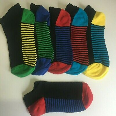 *6 Pairs BOYS trainer Socks KIDS CHILDREN'S COTTON RICH SCHOOL Years 8-11 BRFNN