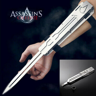 Assassin/'s Creed Cosplay Hidden Blade Video Game Resilience Catapult Launch New