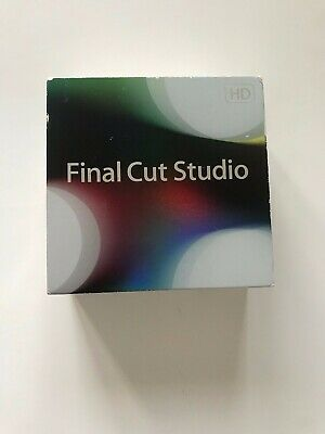 Apple Final Cut Pro 7 HD Studio 3 RETAIL Box Complete with SERIAL NUMBER