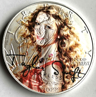 Taylor Swift - Fearless -American Silver Eagle Collectible 1oz. Pure Silver Coin