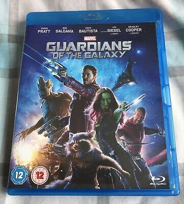 Guardians of the Galaxy Blu-ray (2014)