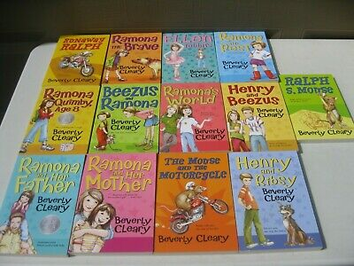 Lot 13 Beverly Cleary Books Ramona Beezus Ralph Unread Exc Cnd