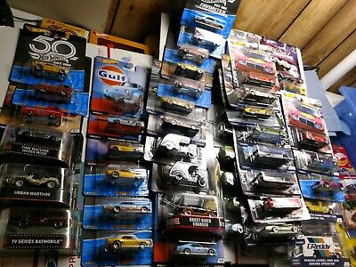 50 Hot WHEELS RETRO ENTERTAINMENT / POP CULTURE / CAR CULTURE DIECAST MIXED LOT
