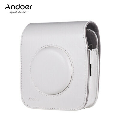Andoer SQ10 Camera Case Bag PU Leather Protection Camera Bag with L8J0