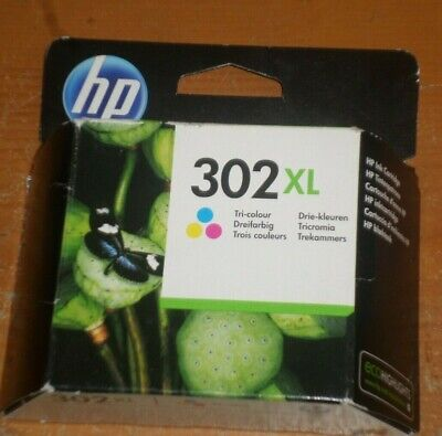 HP 302XL Tri-Colour High Capacity Ink Cartridge (Original)_NEW*_READ LISTING