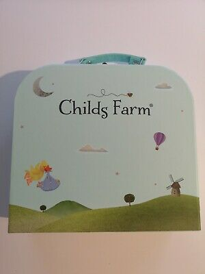 Childs Farm Baby bath and bedtime set