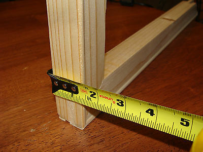 """SET OF Stretcher Bars GALLERY WRAP Canvas Frame Support 12"""" X 18"""" Long"""