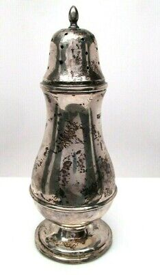 Mappin & Webb Sterling Silver Muffner Large Mint 1916
