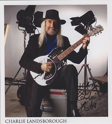 Charlie Landsborough HAND SIGNED Photo, Autograph What Colour is the Wind
