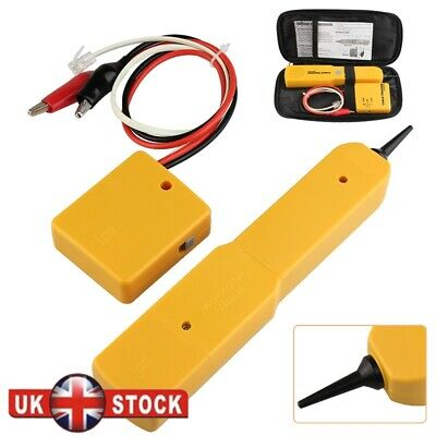 RJ11 Cable Finder Tone Generator Probe Tracker Wire Network Tester Tracer New