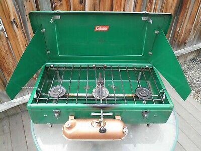 VINTAGE THREE BURNER Model 426B Coleman Camp Stove
