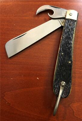 Vintage Camillus Ny Usa Coast Guard Knife Unused