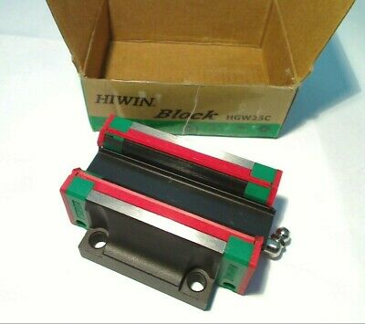 Hiwin HGW25C Z0 Ball Bearing Linear Guideway Carriage Block Slide Heavy Load NEW