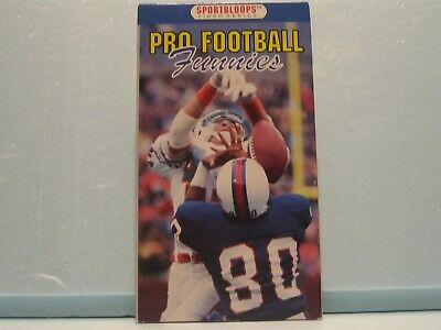 VHS Tape - Pro Football Funnies - Sportbloops