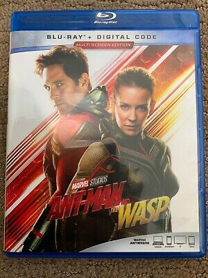 Ant-Man And The Wasp (Blu-Ray disc) Marvel