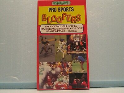 VHS Tape - Pro Sports Bloopers - Sportbloops
