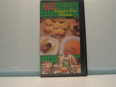 VHS Tape - Cooking Now, Guests For Dinner
