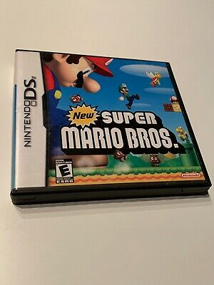 New Super Mario Bros. (Nintendo DS, 2006) Case With Manual And Inserts Only