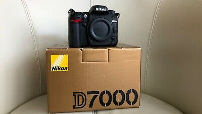 Nikon D7000 16.2MP Digital SLR Camera - Black (Body Only). Immaculate condition.