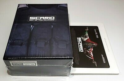 Sicario Day Of The Soldado [Kimchidvd] 1-Click Empty Box  *No Steelbooks /Discs*