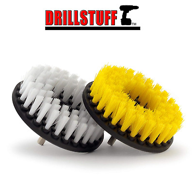 Cleaning Supplies - Drill Brush - Carpet - Upholstery Cleaner - Shower Door