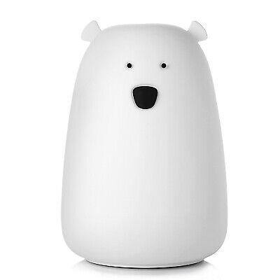 CEROBIT LED Big Bear Silicone Lamp Children Rechargeable Night Light