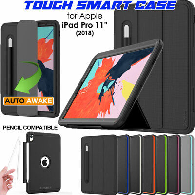 for Apple iPad Pro 11 Tough Rugged ShockProof Slim Armour Smart Case Cover