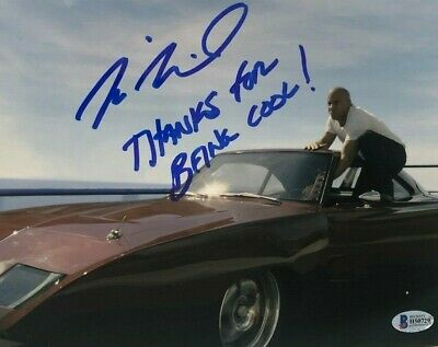 Vin Diesel signed autographed 8x10 Photo Fast and the Furious BECKETT COA