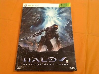 HALO 4- OFFICIAL GAME GUIDE-XBOX 360-Book-2012